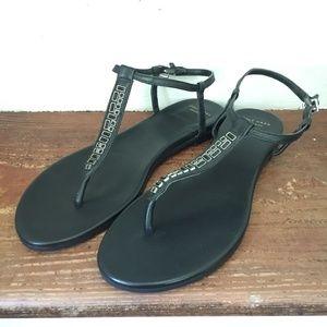 Cole Haan T-Strap Sandals